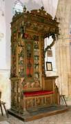Trone de celebrant ou les mysteres du rosaire